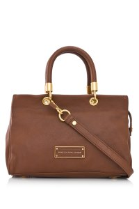 Marc by Marc Jacobs Too Hot To Handle Leather Satchel in Redwood