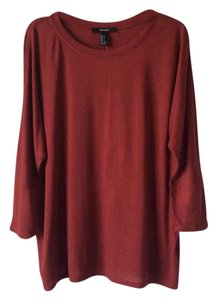 Forever 21 Top Brick red