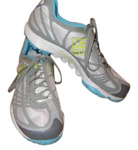Columbia Waterproof Trail Hiking Gray and blue Athletic