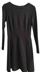 Theory A-line Pleated Lbd Dress