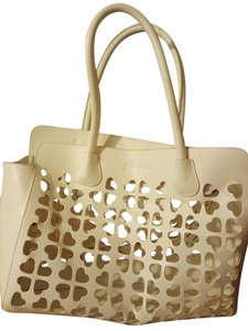 Folli Follie Tote in Ivory
