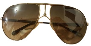 Carrera Silver Aviator Sunglasses