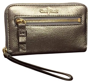 Cole Haan Wristlet in Silver