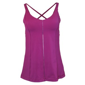 Lululemon Yoga Woven Strap Top REGAL PLUM