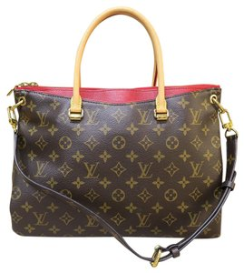 Louis Vuitton Lv Pallas Canvas Satchel in monogram