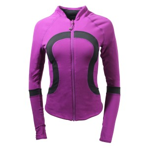 Lululemon Cotton Reversible Black/Regal Plum Jacket