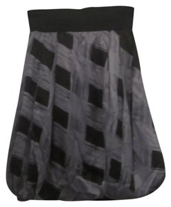KAS New York Skirt Gray and Black