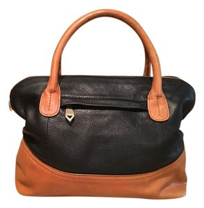 Christopher Kon Satchel in Caramel and Black
