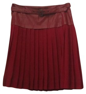 W118 by Walter Baker Skirt Burgundy