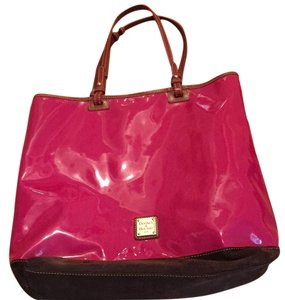 Dooney & Bourke Tote in Cranberry