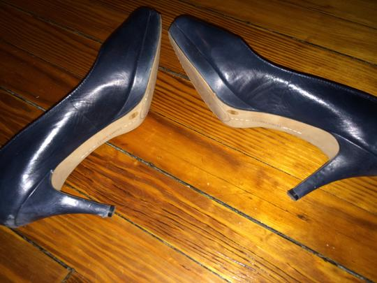 Vince Camuto Navy Pumps