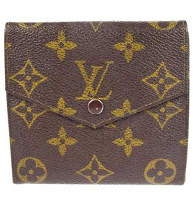 Louis Vuitton Trifold Wallet Purse Monogram Leather BN Men