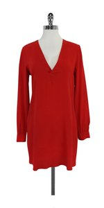 Rory Beca short dress Red V-neck Shift on Tradesy
