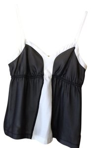 Elle Top black,ivory