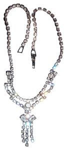 Other Vintage Diamond Rhinestone Necklace, 17