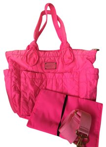 Marc Jacobs Style Hot Pink Diaper Bag