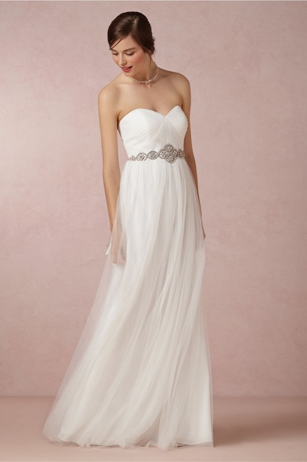 Item - Ivory Tulle Annabelle #31062417 Formal Bridesmaid/Mob Dress Size 4 (S)