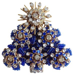 Stanley Hagler NYC Hagler Christmas Tree Brooch