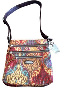 Tyler Rodan Zip Pockets Key Chain Cross Body Bag