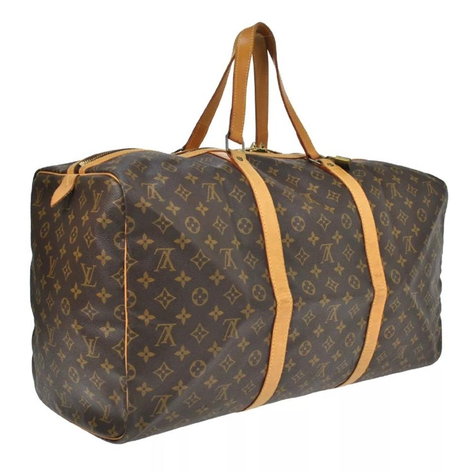 louis vuitton sac souple 55 travel bag weekend travel bags on sale. Black Bedroom Furniture Sets. Home Design Ideas