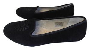 UGG Australia Suede Clean Loafers black Flats