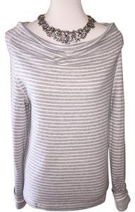 James Perse James Heathered Free Shipping Size Medium Gray Tee Sweater