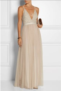 Needle & Thread Blush Needle & Thread Embellished Chiffon & Tulle Maxi Dress Dress