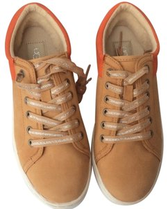 UGG Australia New With Tags Nwt Nubuck Two-tone Tan / Orange Athletic