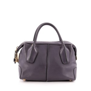 Tod's Tods Bauletto Leather Satchel