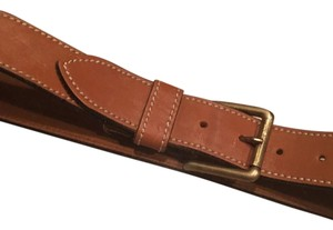 Banana Republic Cognac Oil Tanned Leather 30 Belt