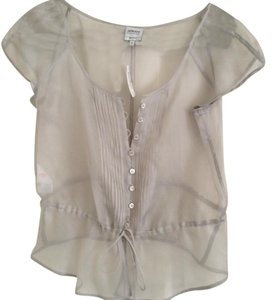 Armani Collezioni Top Light grey
