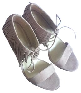 Ann Taylor Taupe Sandals