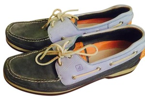 Sperry Boat Loafers Top Boat Blue Sperry's Flats