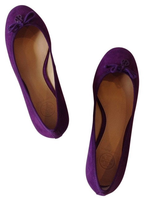Item - Sweet Plum Purple Suede Chelsea Wedges Size US 7.5 Regular (M, B)