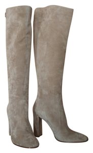 Gianvito Rossi Suede Beige/Sand Boots