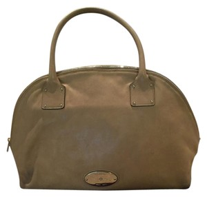 Mulberry Satchel in Light Grey/Taupe