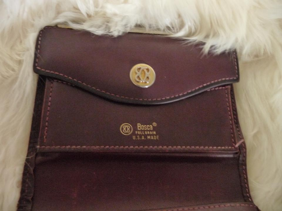 Bosca Vintage Full Grain Leather Made In The U S A