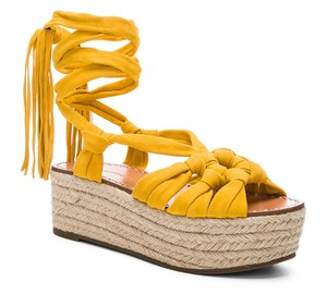 Sigerson Morrison yellow Flats