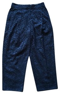 J.Crew Capri/Cropped Pants Navy Blue