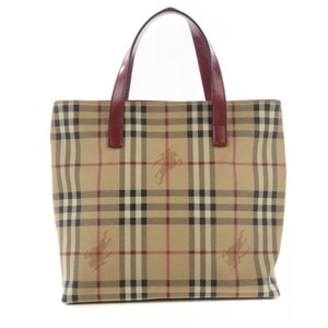 Burberry Tote in Burgandy