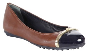 Tory Burch ALMOND-NAVY Flats
