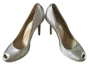 Robert Clergerie silver Pumps