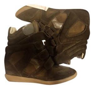Isabel Marant Khaki Wedges