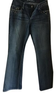 INC International Concepts Boot Cut Jeans-Light Wash