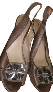 Vince Camuto Dark Taupe Wedges