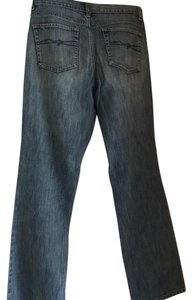 New York & Company Boot Cut Jeans-Distressed