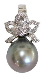 South Sea Tahitian Pearl Genuine South Sea Peacock Pearl Diamond Enhancer
