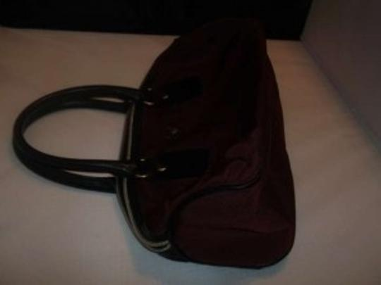 Victoria's Secret Nylon Faux Leather Satchel in reed