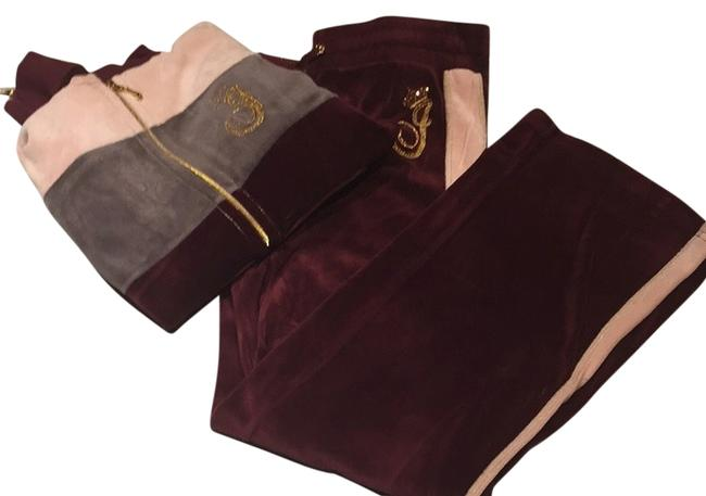 Preload https://item1.tradesy.com/images/juicy-couture-burgundy-pink-grey-gold-activewear-size-8-m-1995810-0-0.jpg?width=400&height=650
