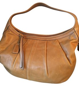 Coach Leather Vintage Hobo Bag